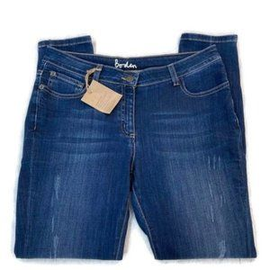 BODEN Skimmer Zip Ankle Jeans- NWT! SYLE: WC154.
